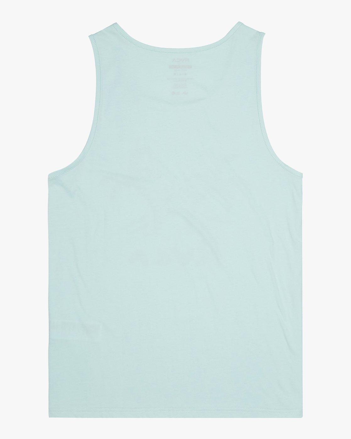 1 Palmer - T-Shirt for Men Blue S1SGRARVP0 RVCA