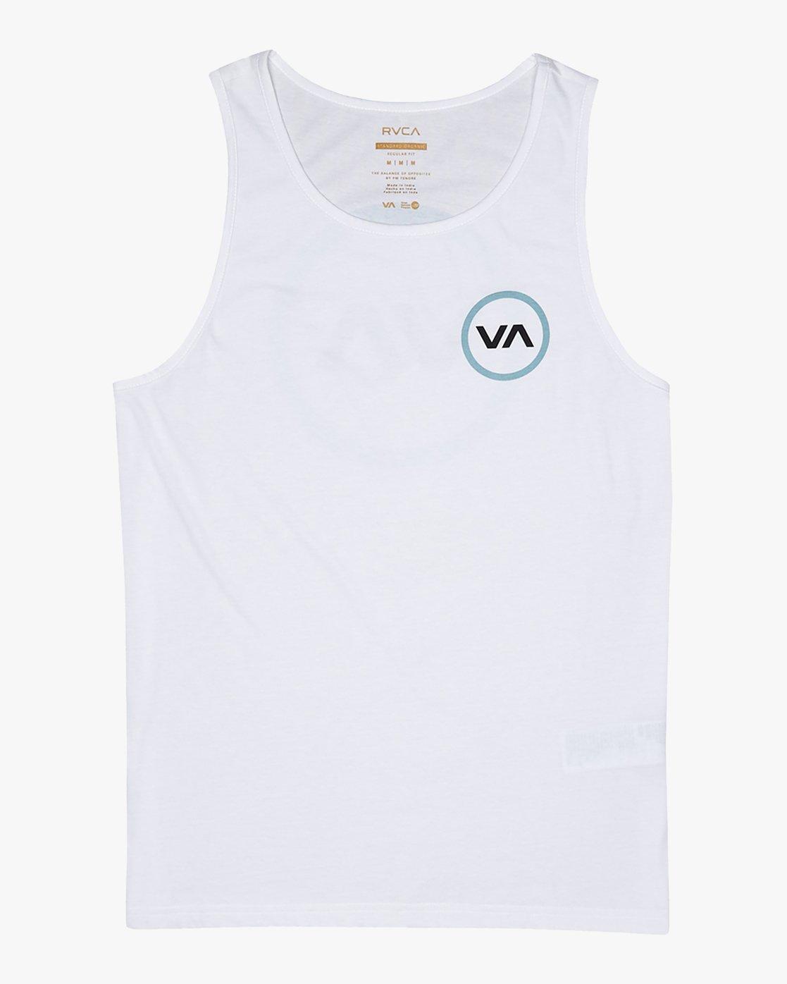 4 VA Mod - T-Shirt for Men White S1SGRBRVP0 RVCA