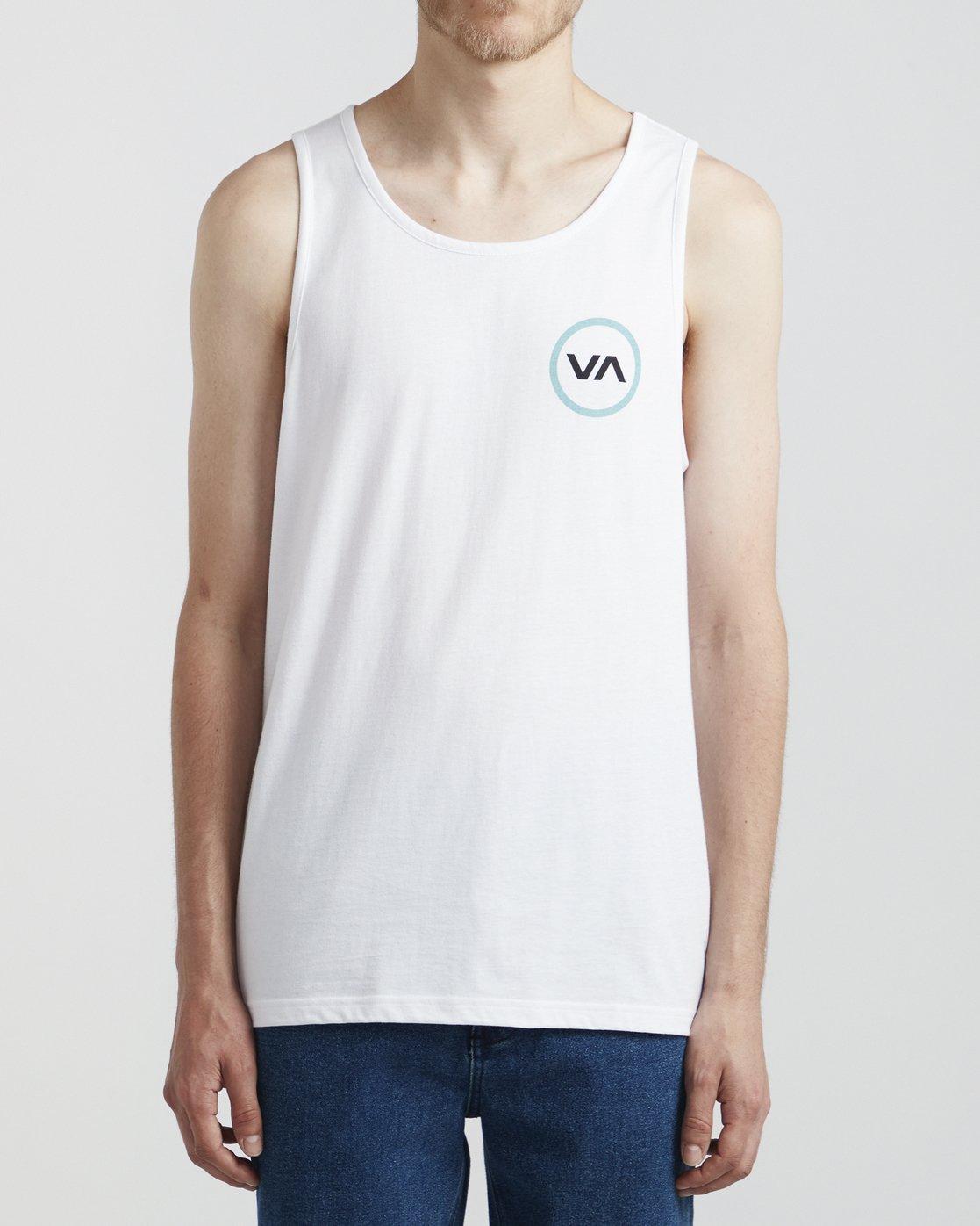 0 VA Mod - T-Shirt for Men White S1SGRBRVP0 RVCA