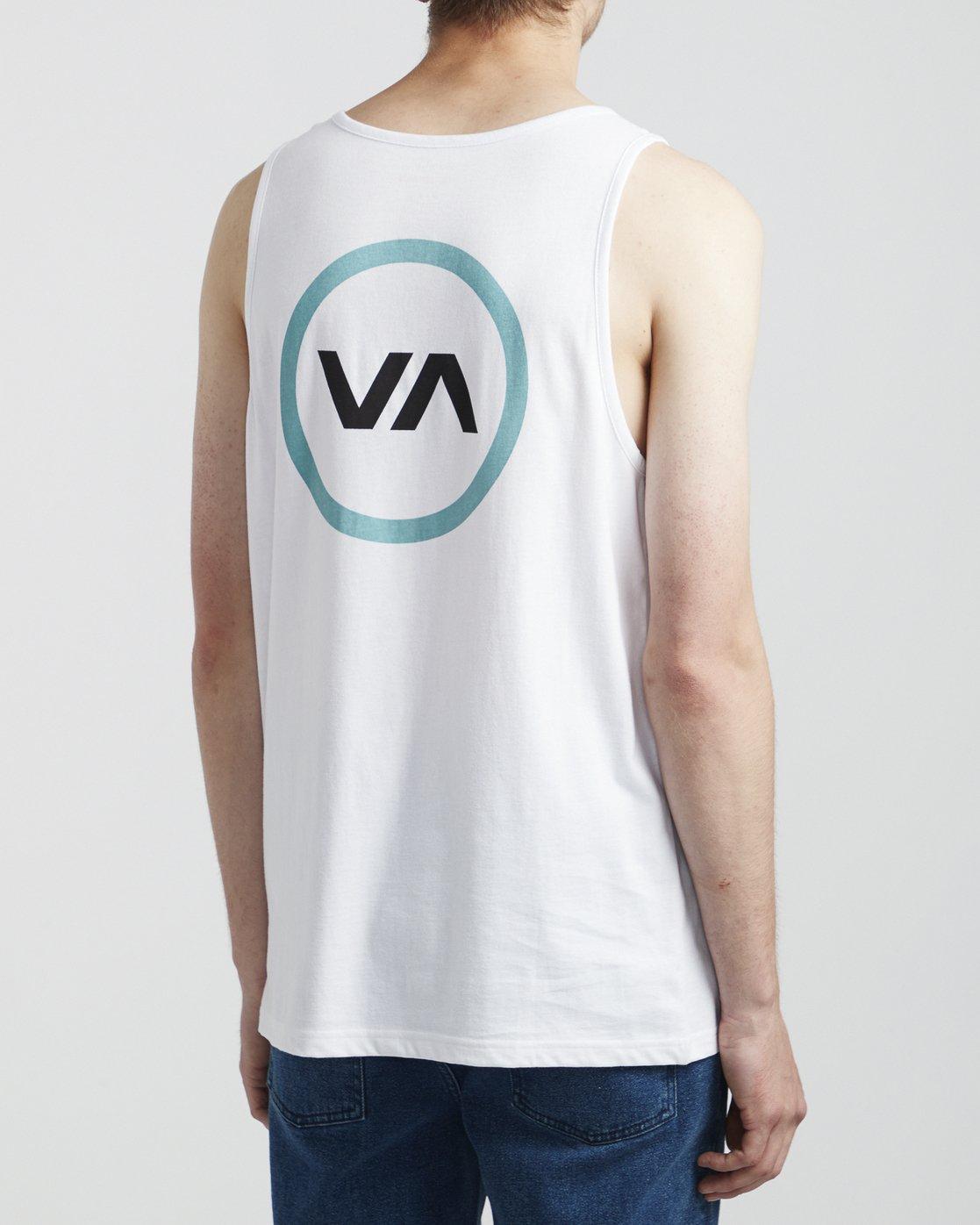 3 VA Mod - T-Shirt for Men White S1SGRBRVP0 RVCA