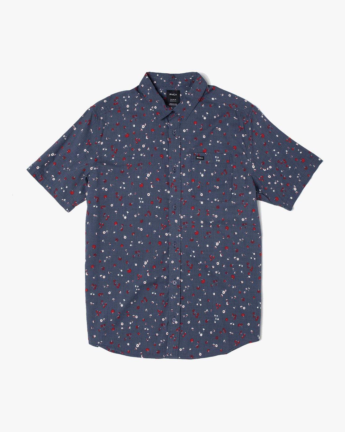 0 Calico - Printed Shirt for Men  S1SHRARVP0 RVCA