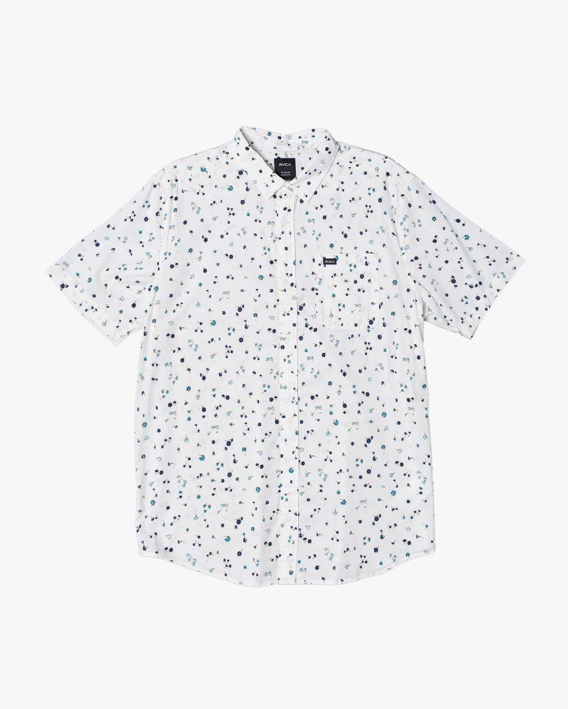 0 Calico - Printed Shirt for Men White S1SHRARVP0 RVCA