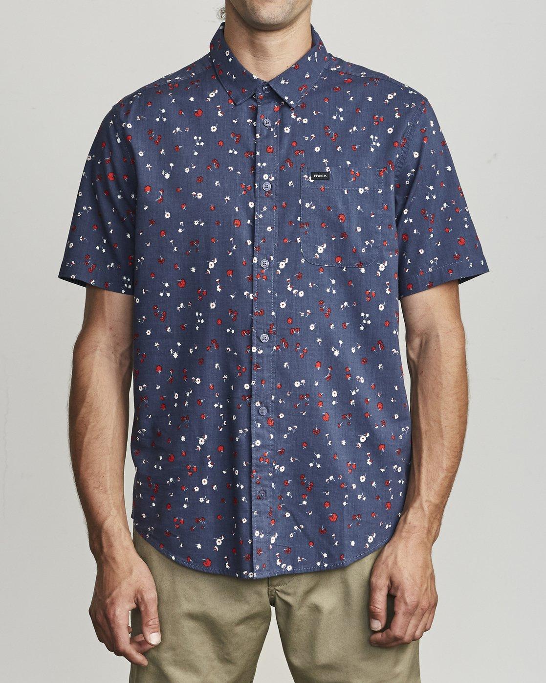 1 Calico - Printed Shirt for Men  S1SHRARVP0 RVCA