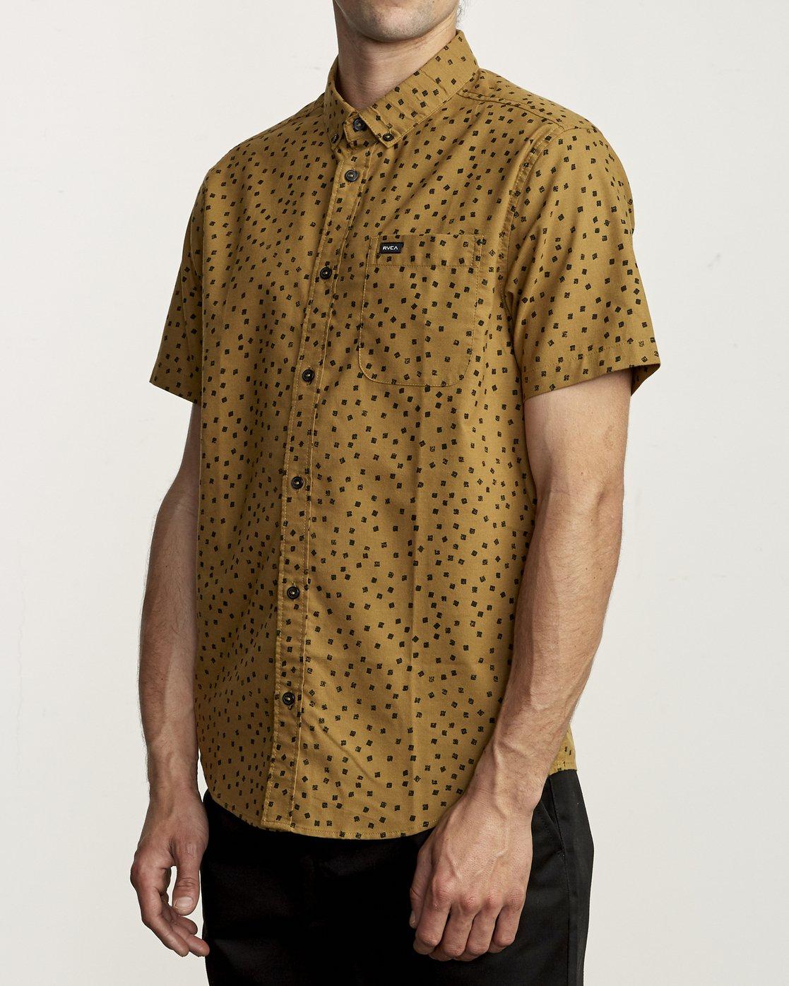 3 Thatll Do Print - Printed Shirt for Men  S1SHRBRVP0 RVCA