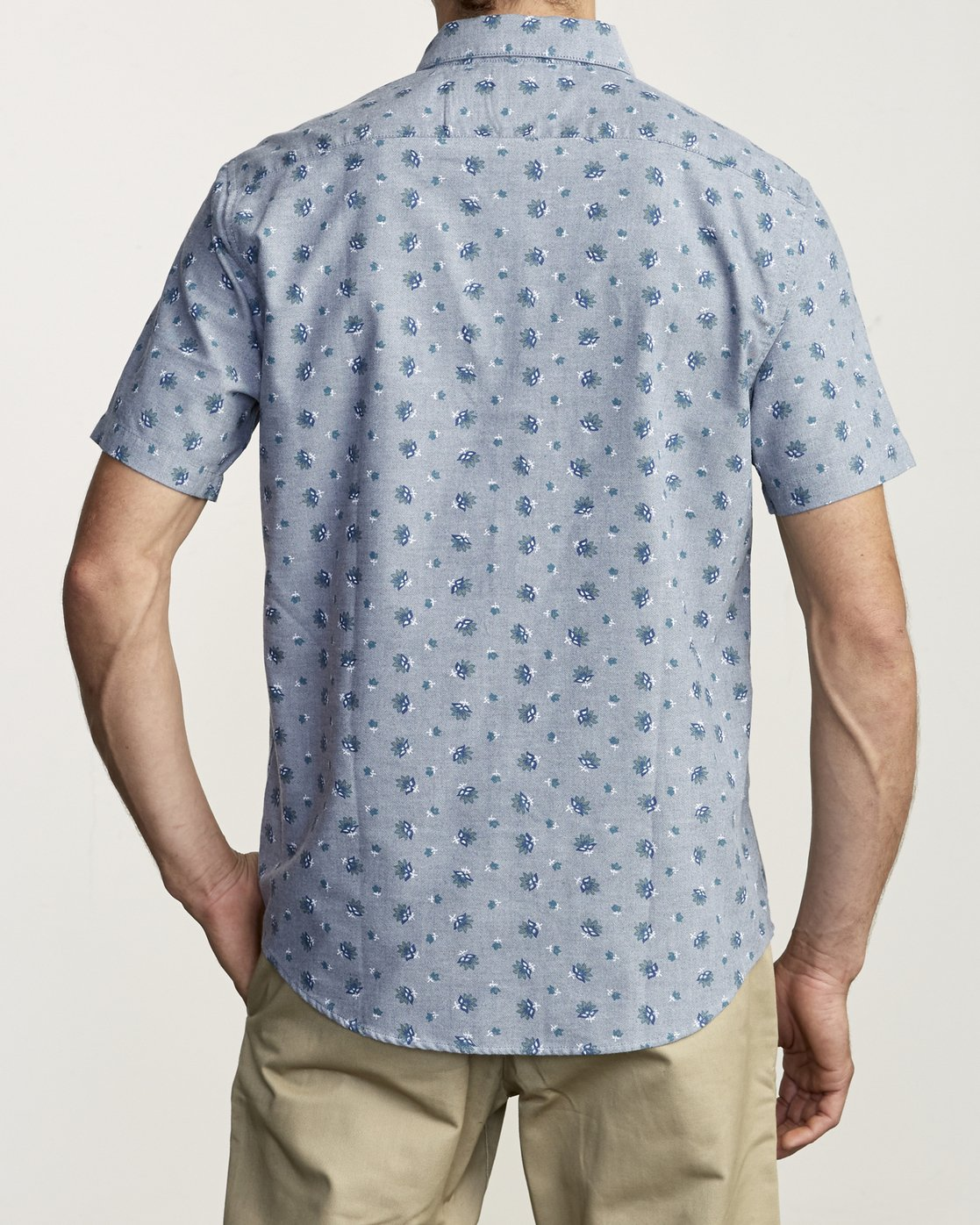 2 Thatll Do Print - Printed Shirt for Men Blue S1SHRBRVP0 RVCA