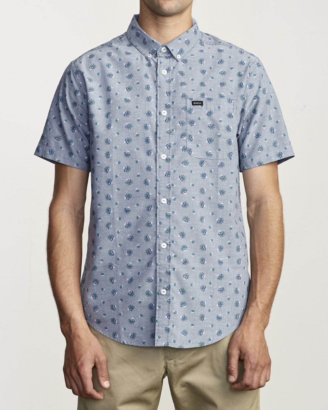 1 Thatll Do Print - Printed Shirt for Men Blue S1SHRBRVP0 RVCA