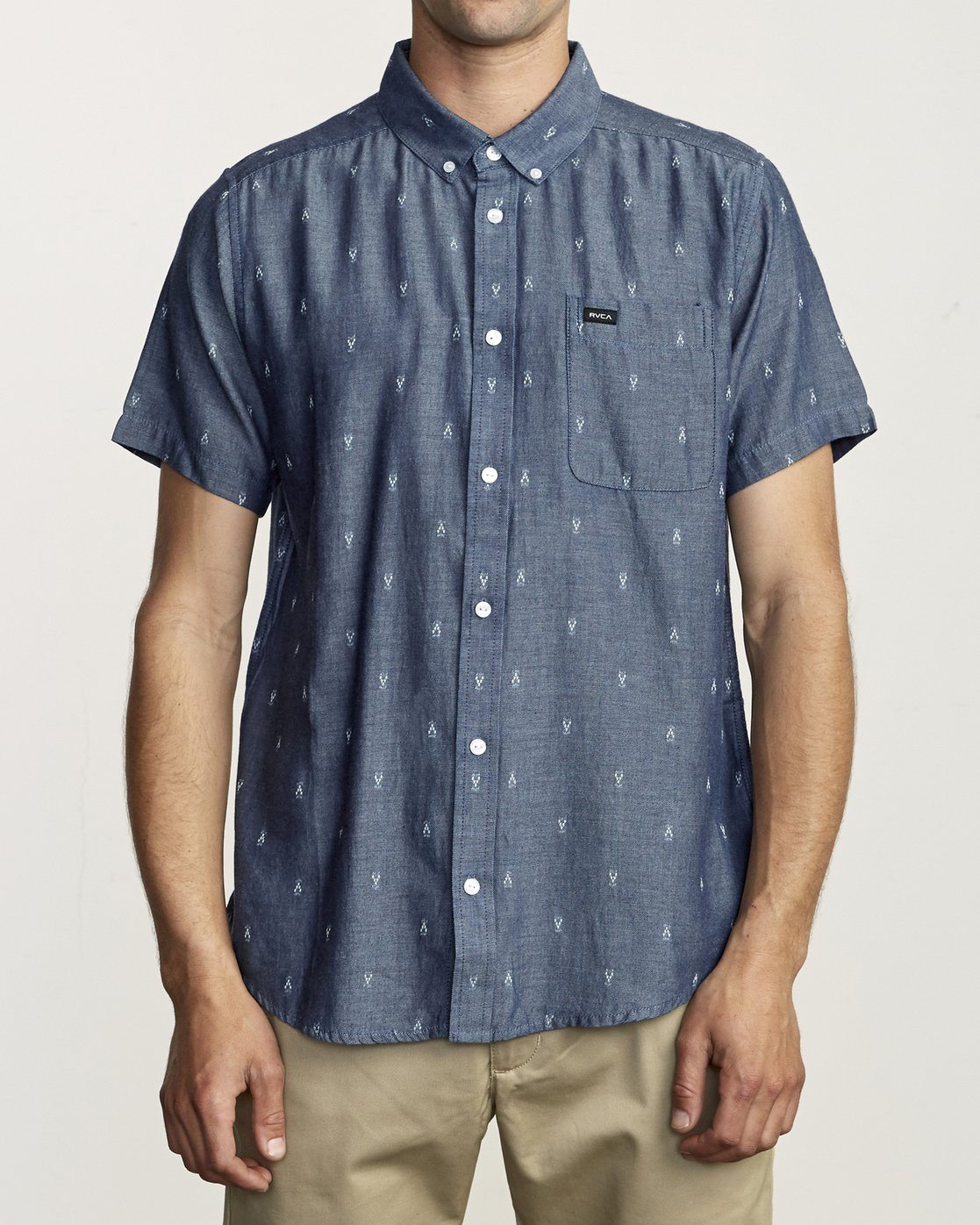 1 Thatll Do Dobby - Shirt for Men Blue S1SHRDRVP0 RVCA