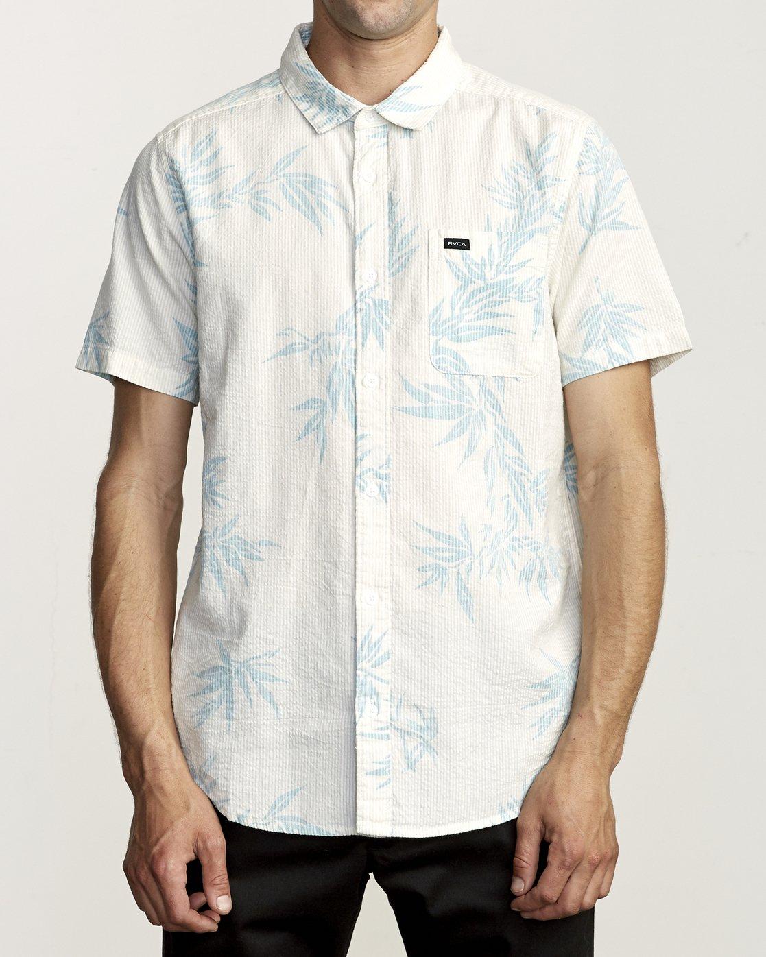 1 Richmond - Printed Shirt for Men Silver S1SHRERVP0 RVCA