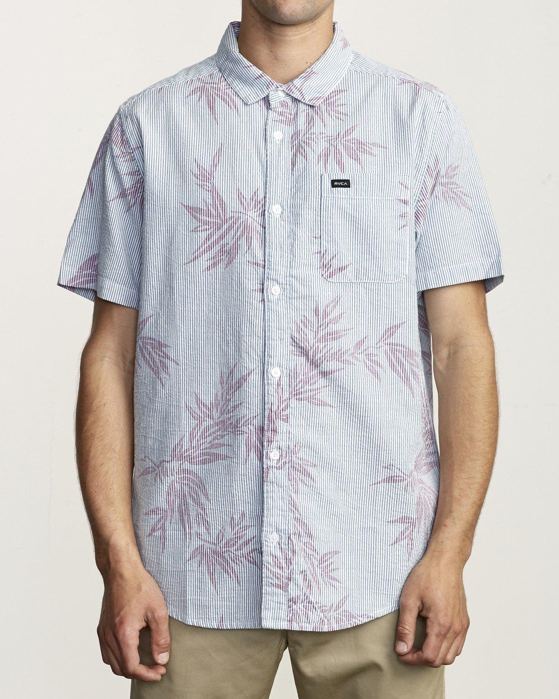 1 Richmond - Printed Shirt for Men  S1SHRERVP0 RVCA