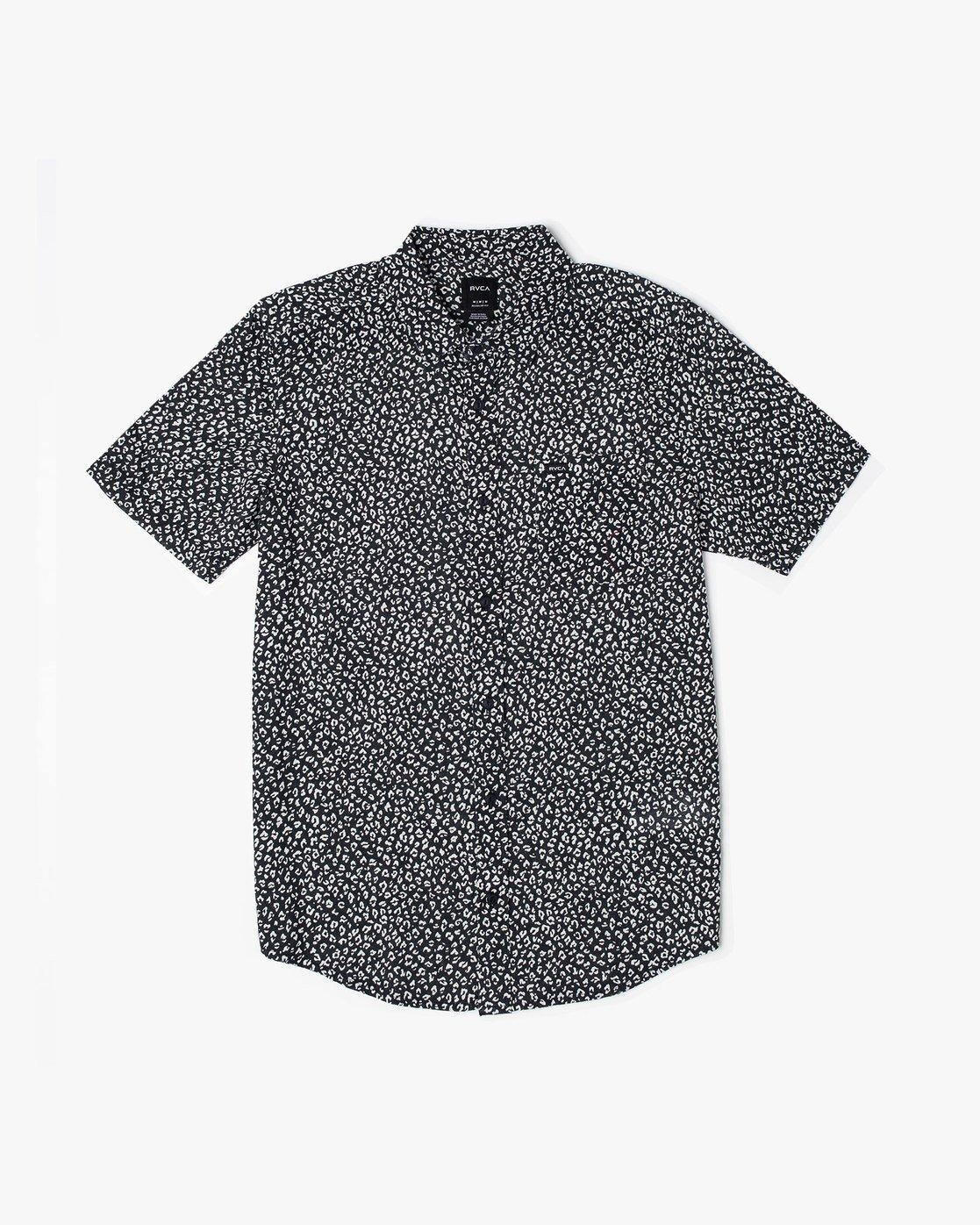 0 Presido - Printed Shirt for Men Black S1SHRKRVP0 RVCA
