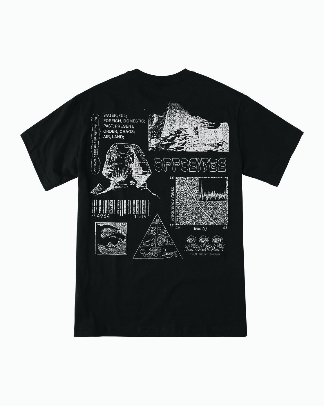 1 Lost Souls - Graphic T-Shirt for Men Black S1SSRARVP0 RVCA