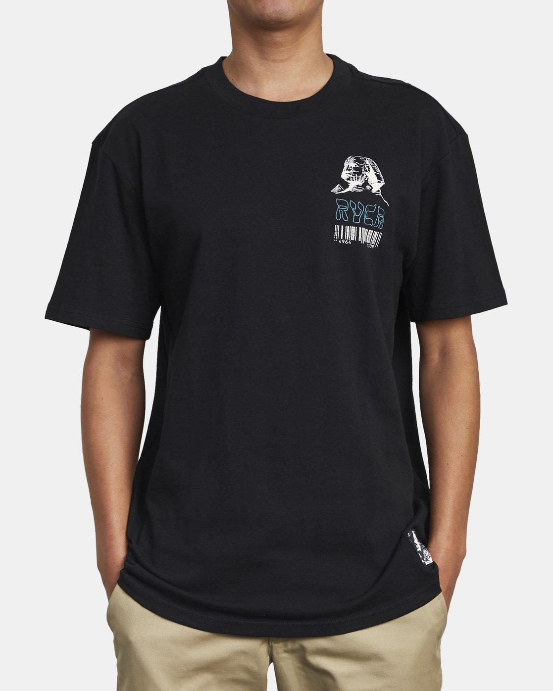 5 Lost Souls - Graphic T-Shirt for Men Black S1SSRARVP0 RVCA