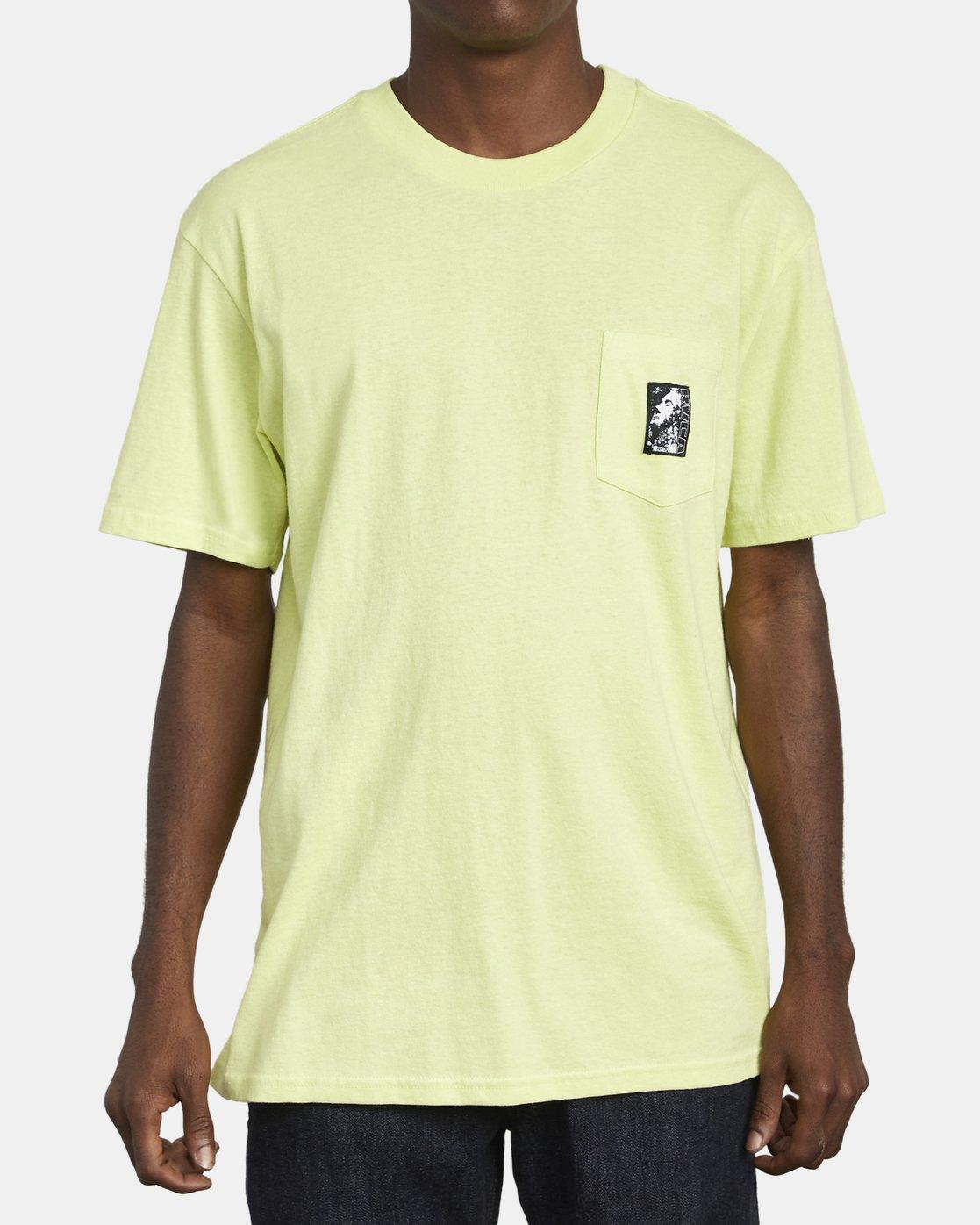4 Monolith - Pocket T-Shirt for Men  S1SSRBRVP0 RVCA