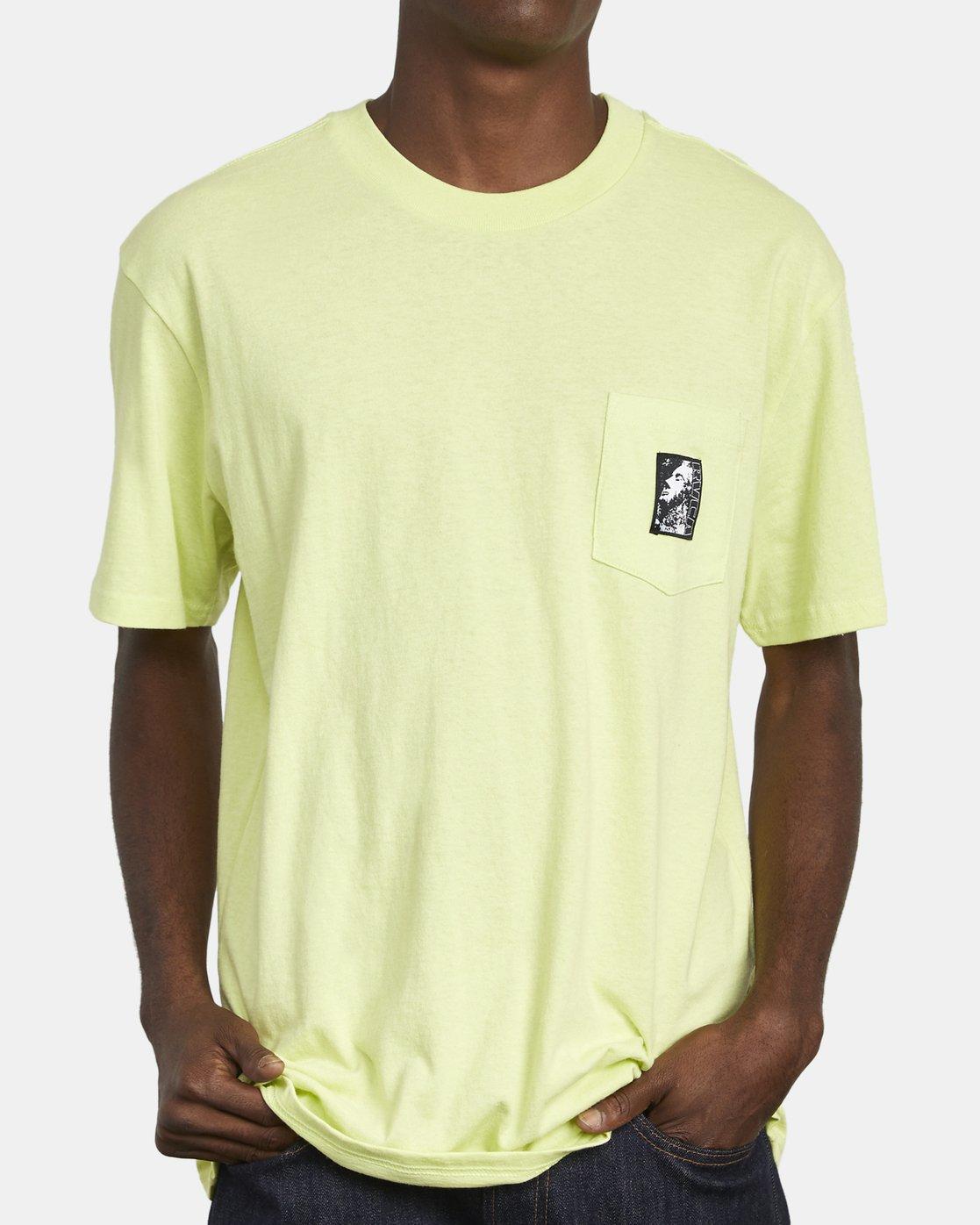 5 Monolith - Pocket T-Shirt for Men  S1SSRBRVP0 RVCA