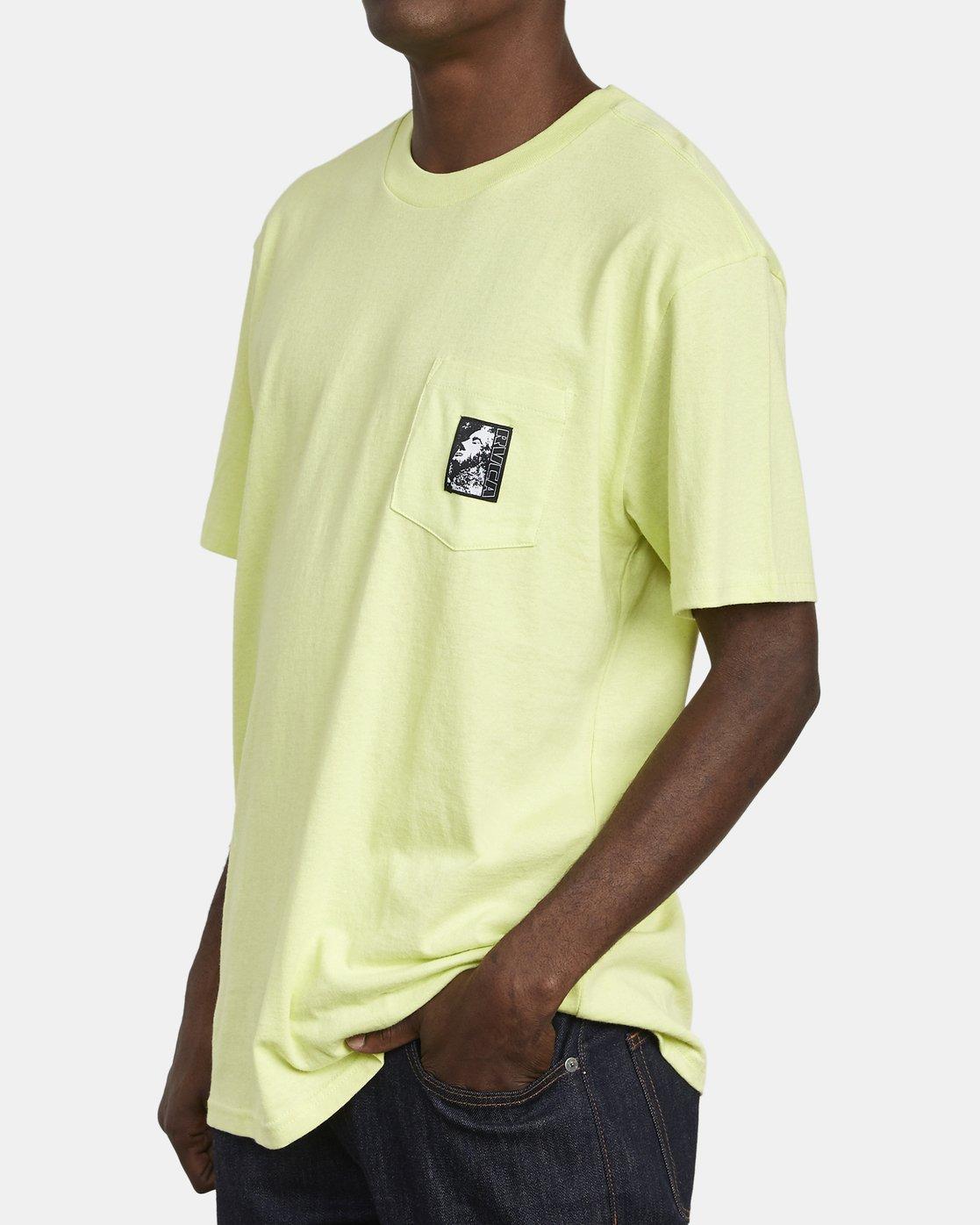 6 Monolith - Pocket T-Shirt for Men  S1SSRBRVP0 RVCA