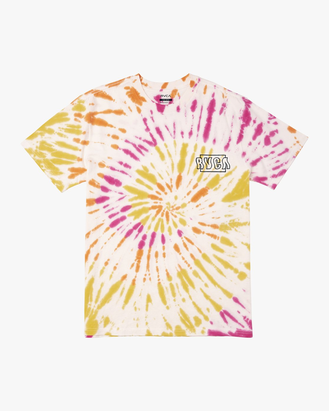 0 Swerve - Tie-Dye T-Shirt for Men  S1SSRERVP0 RVCA