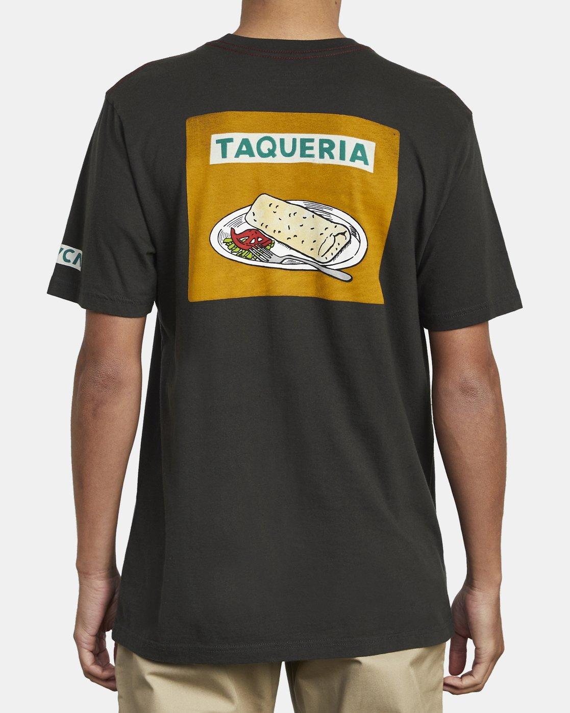 6 Hot Fudge Taqueria - Graphic T-Shirt for Men Black S1SSRFRVP0 RVCA
