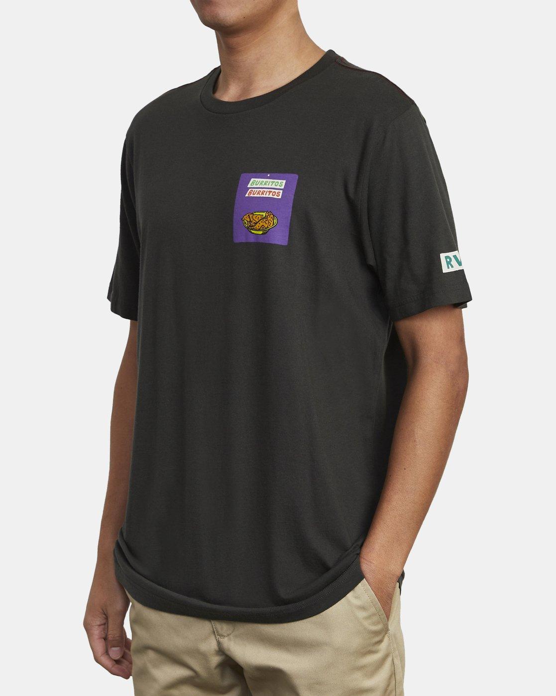 4 Hot Fudge Taqueria - Graphic T-Shirt for Men Black S1SSRFRVP0 RVCA