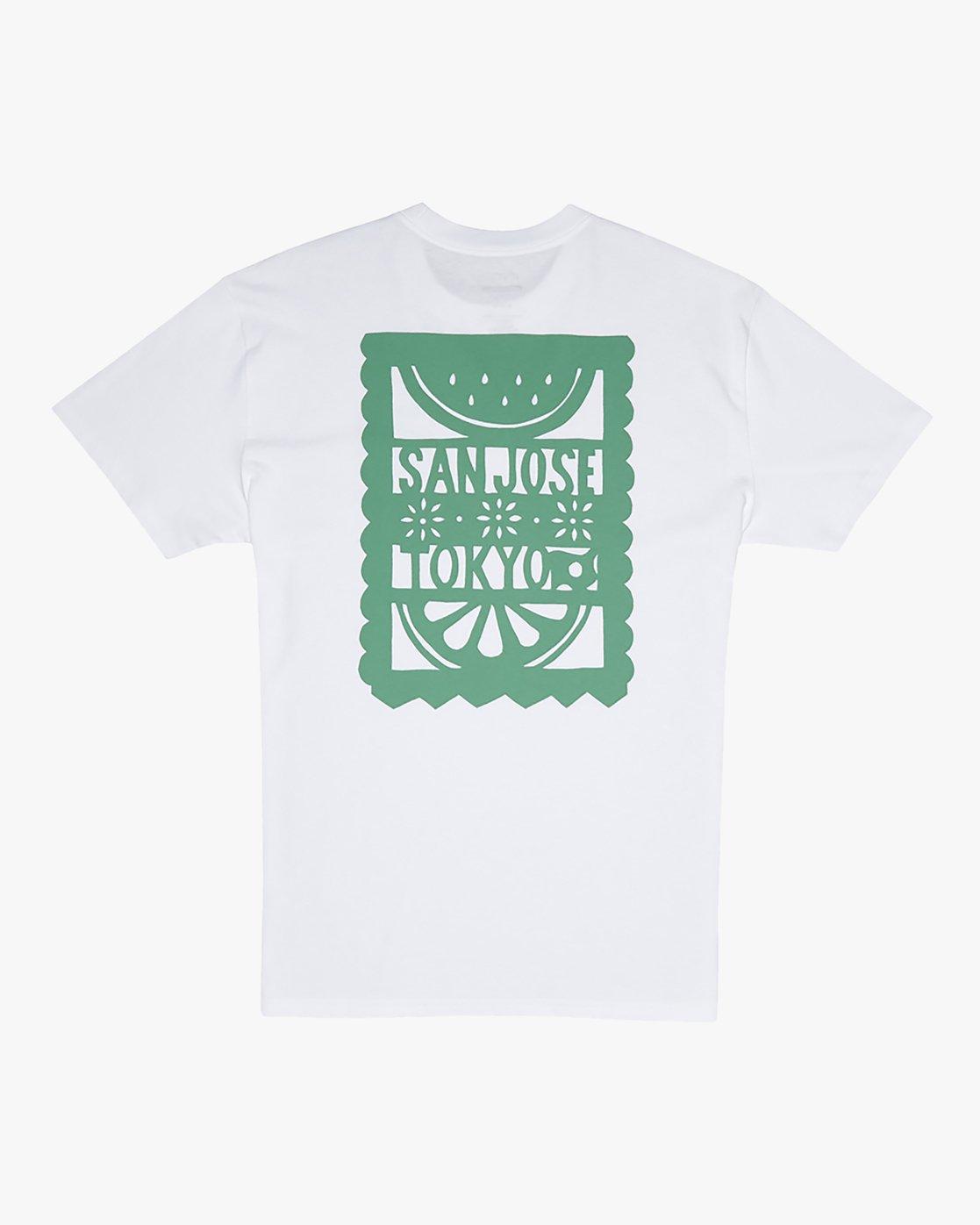 0 Hot Fudge La Rosa - T-Shirt for T-Shirt White S1SSRGRVP0 RVCA