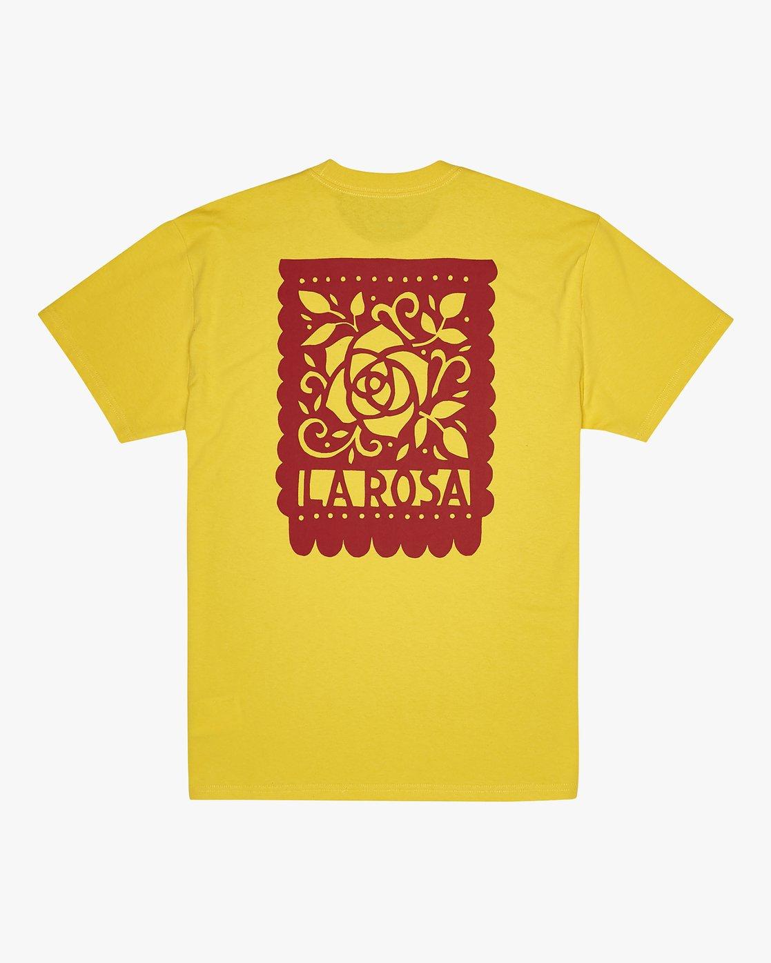 0 Hot Fudge La Rosa - T-Shirt for T-Shirt  S1SSRGRVP0 RVCA