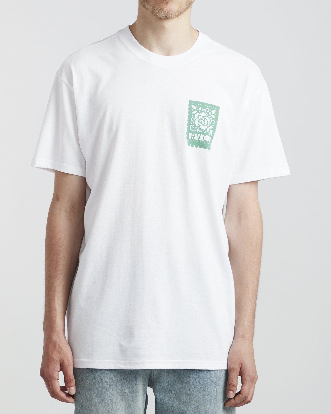 2 Hot Fudge La Rosa - T-Shirt for T-Shirt White S1SSRGRVP0 RVCA