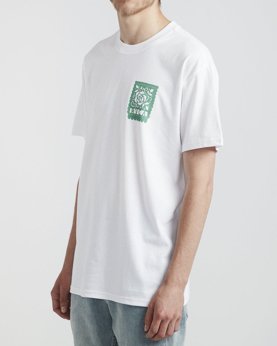 3 Hot Fudge La Rosa - T-Shirt for T-Shirt White S1SSRGRVP0 RVCA