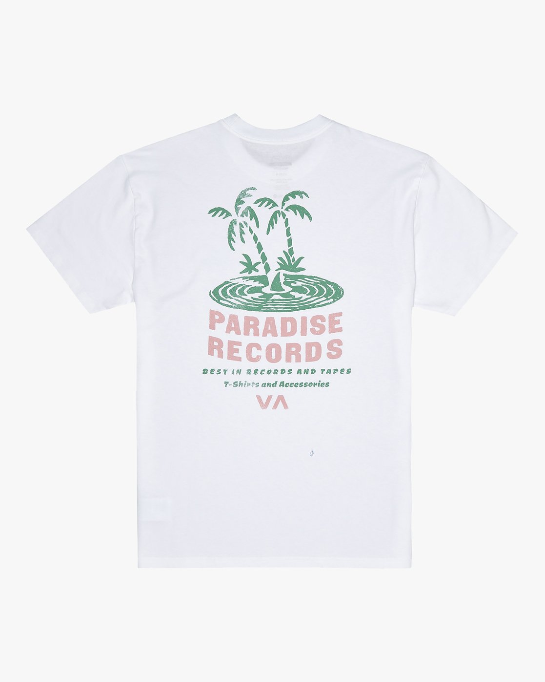 0 Paradise Records - T-Shirt for Men White S1SSRKRVP0 RVCA