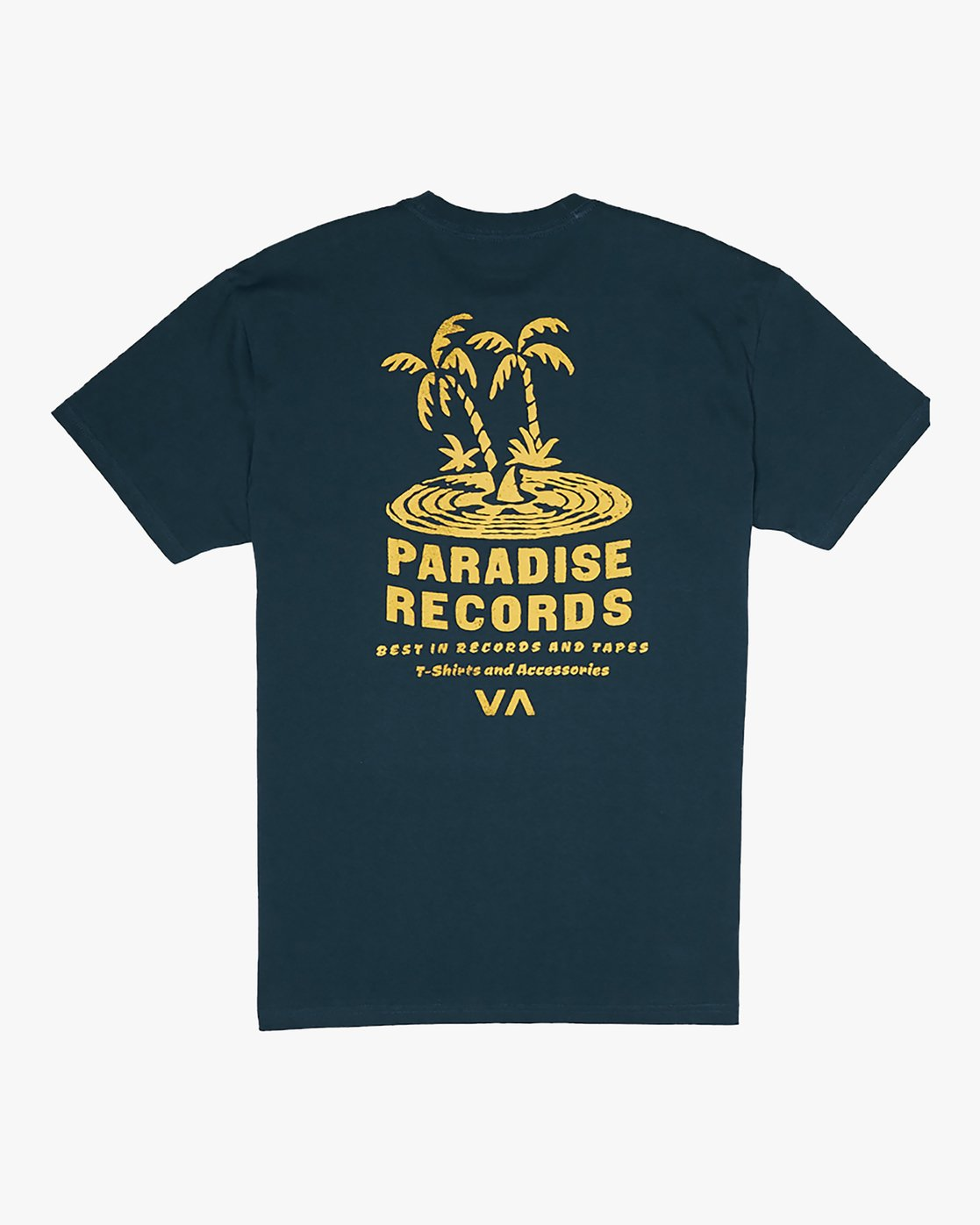 0 Paradise Records - T-Shirt for Men Blue S1SSRKRVP0 RVCA