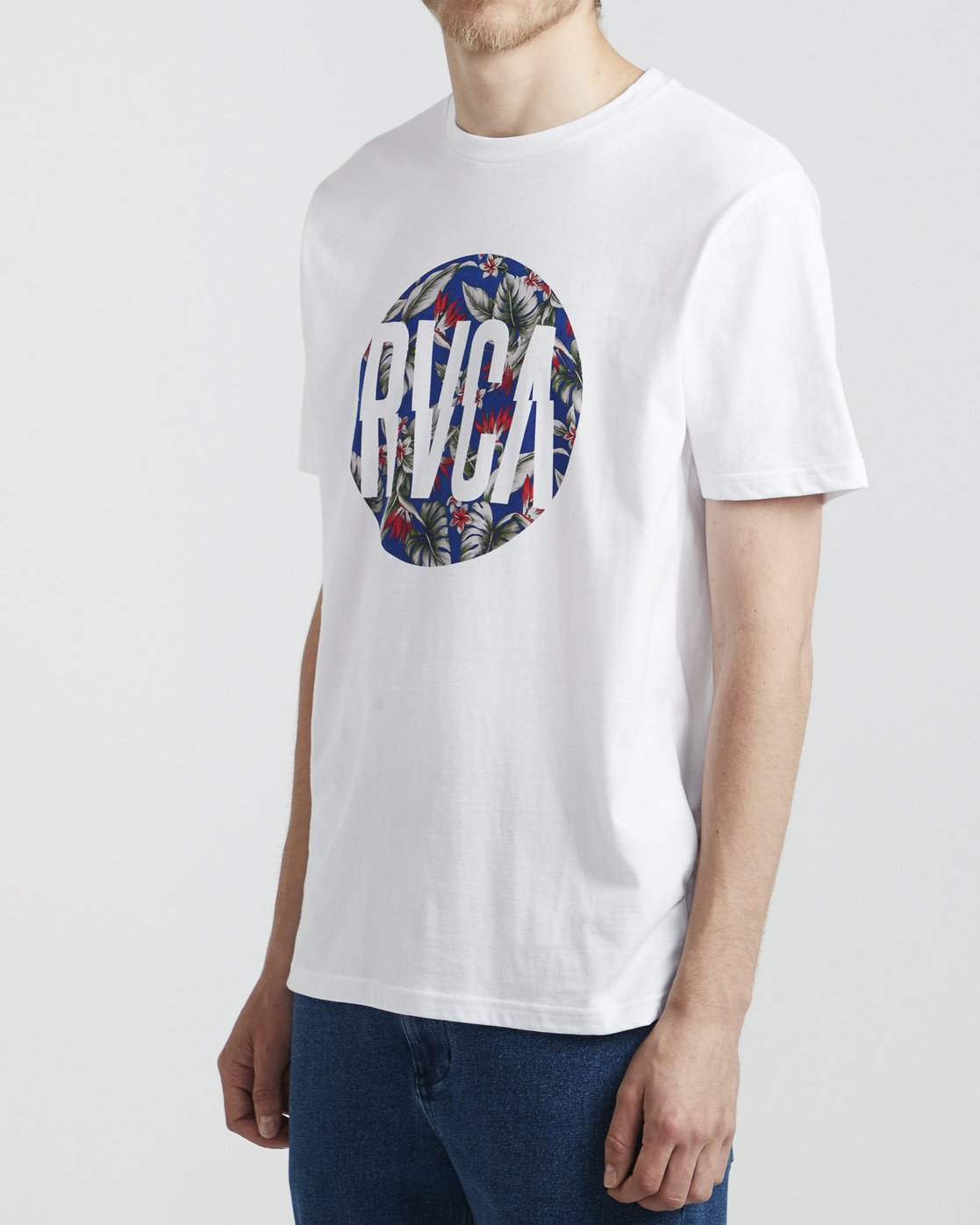 3 Big Motors - T-Shirt for Men White S1SSRORVP0 RVCA
