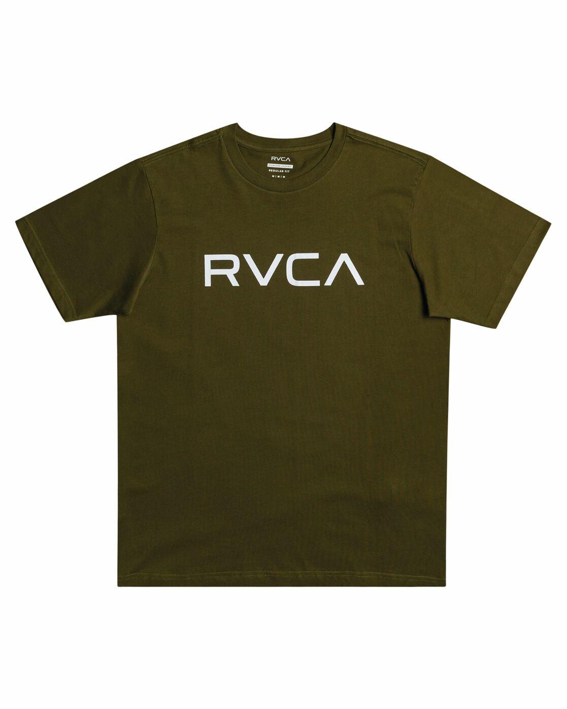 0 Big RVCA - T-Shirt for Men Red S1SSRPRVP0 RVCA