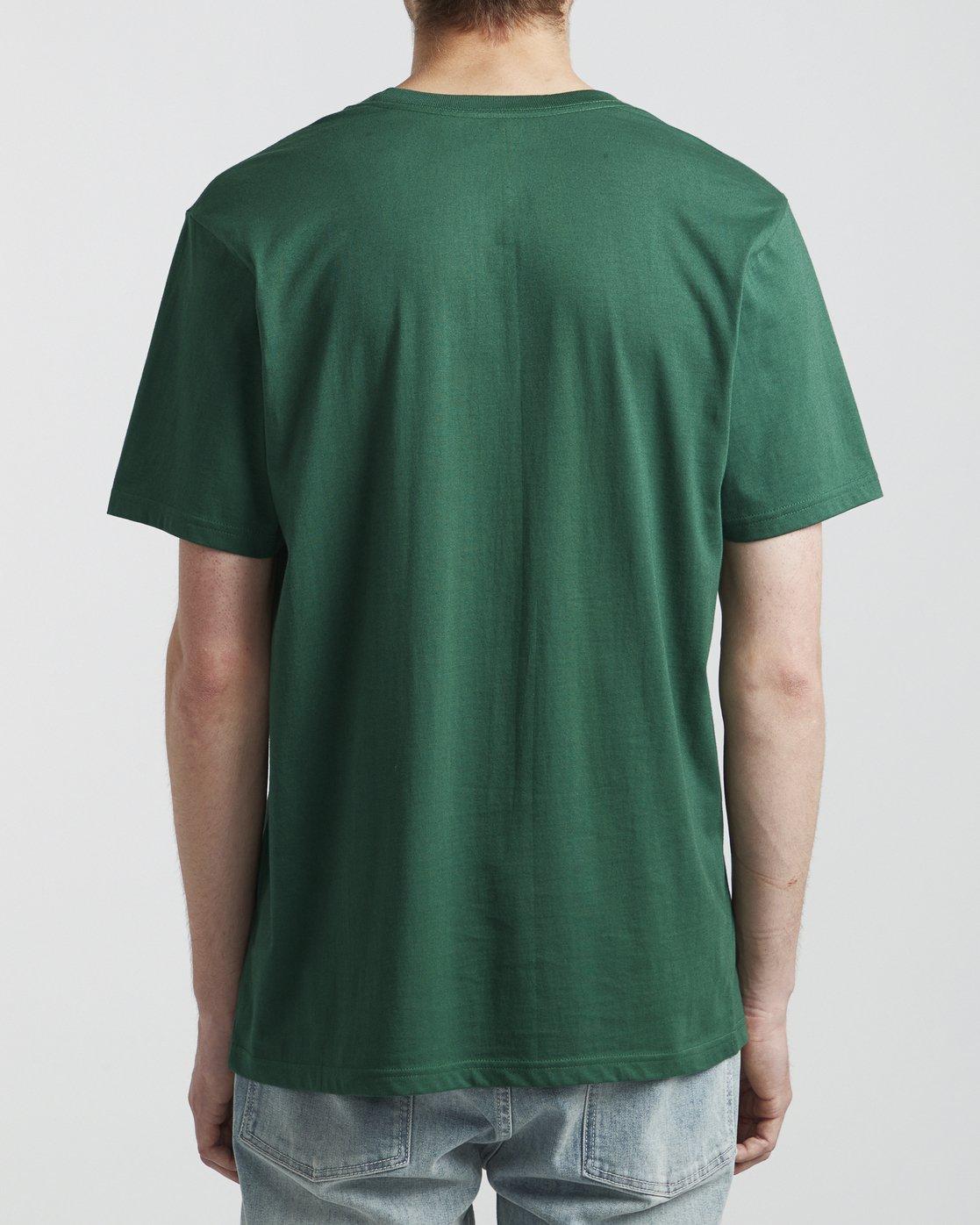 5 Big RVCA - T-Shirt for Men Green S1SSRPRVP0 RVCA