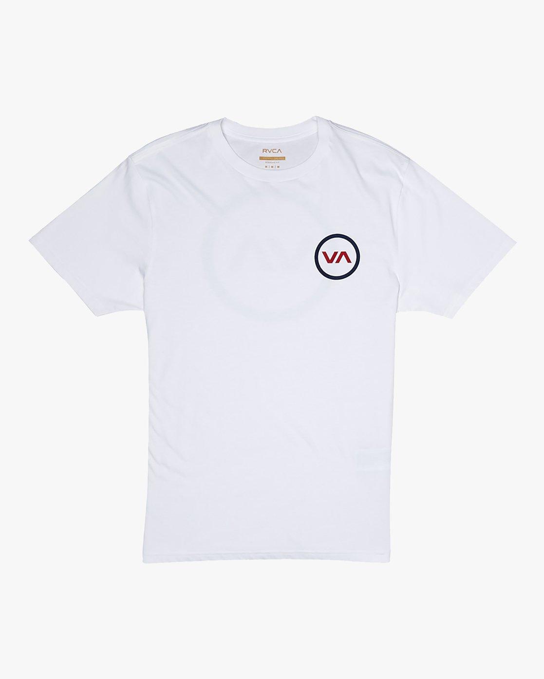 1 VA Mod - T-Shirt for Men White S1SSRQRVP0 RVCA