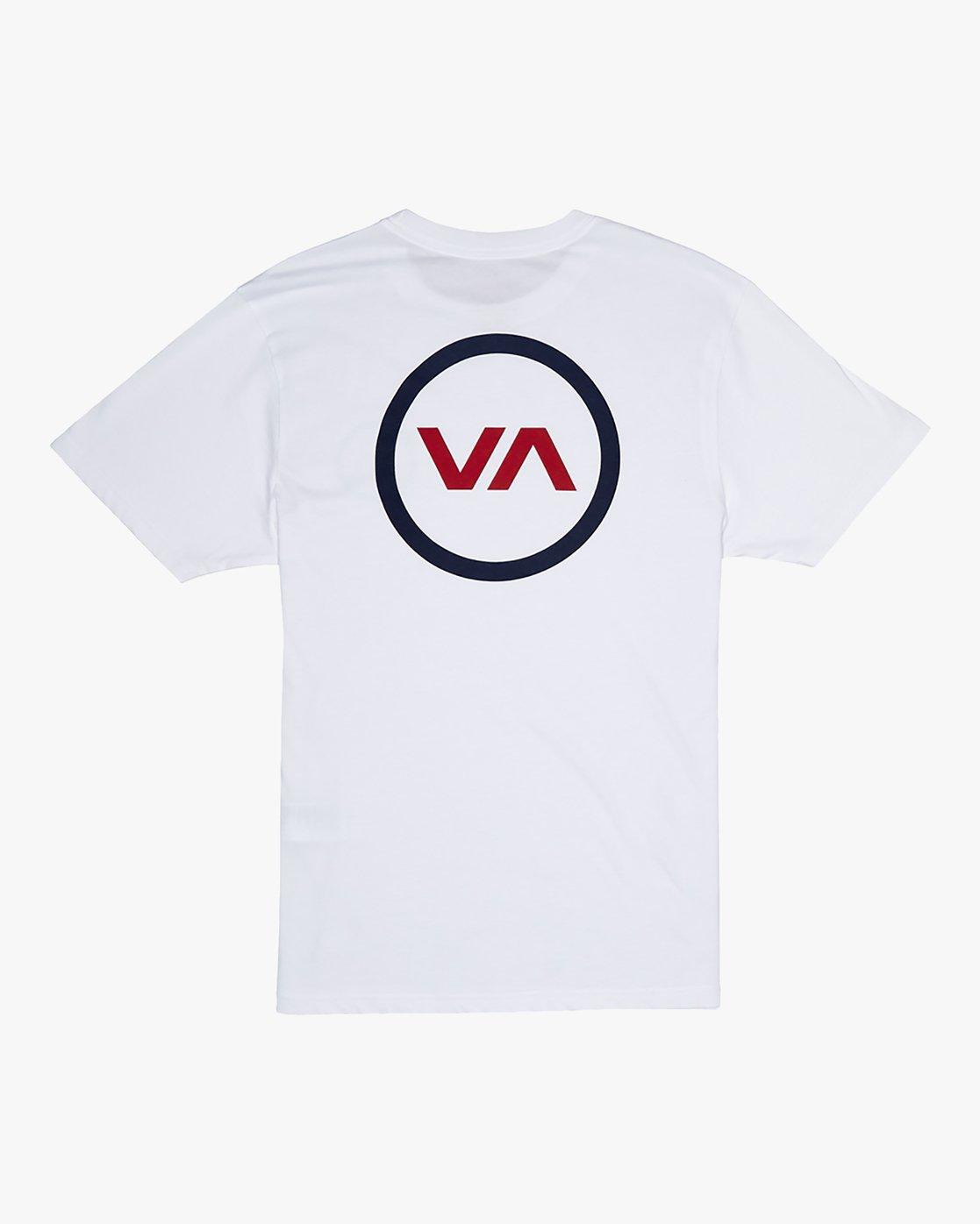 0 VA Mod - T-Shirt for Men White S1SSRQRVP0 RVCA