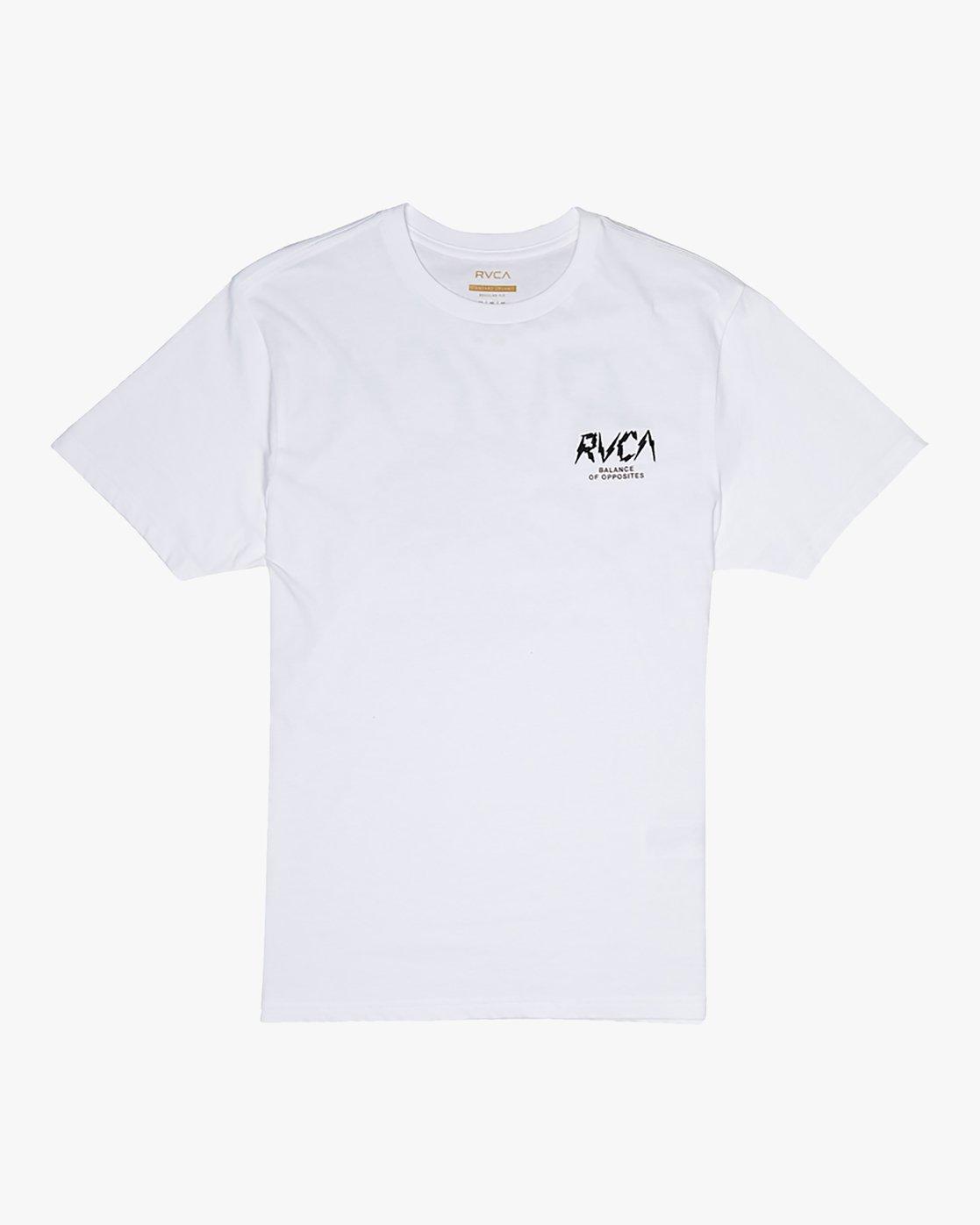 1 Parker - T-Shirt for Men White S1SSRSRVP0 RVCA