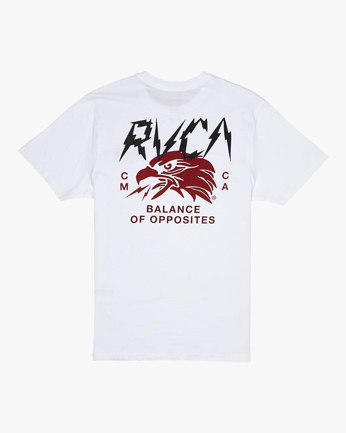 0 Parker - T-Shirt for Men White S1SSRSRVP0 RVCA
