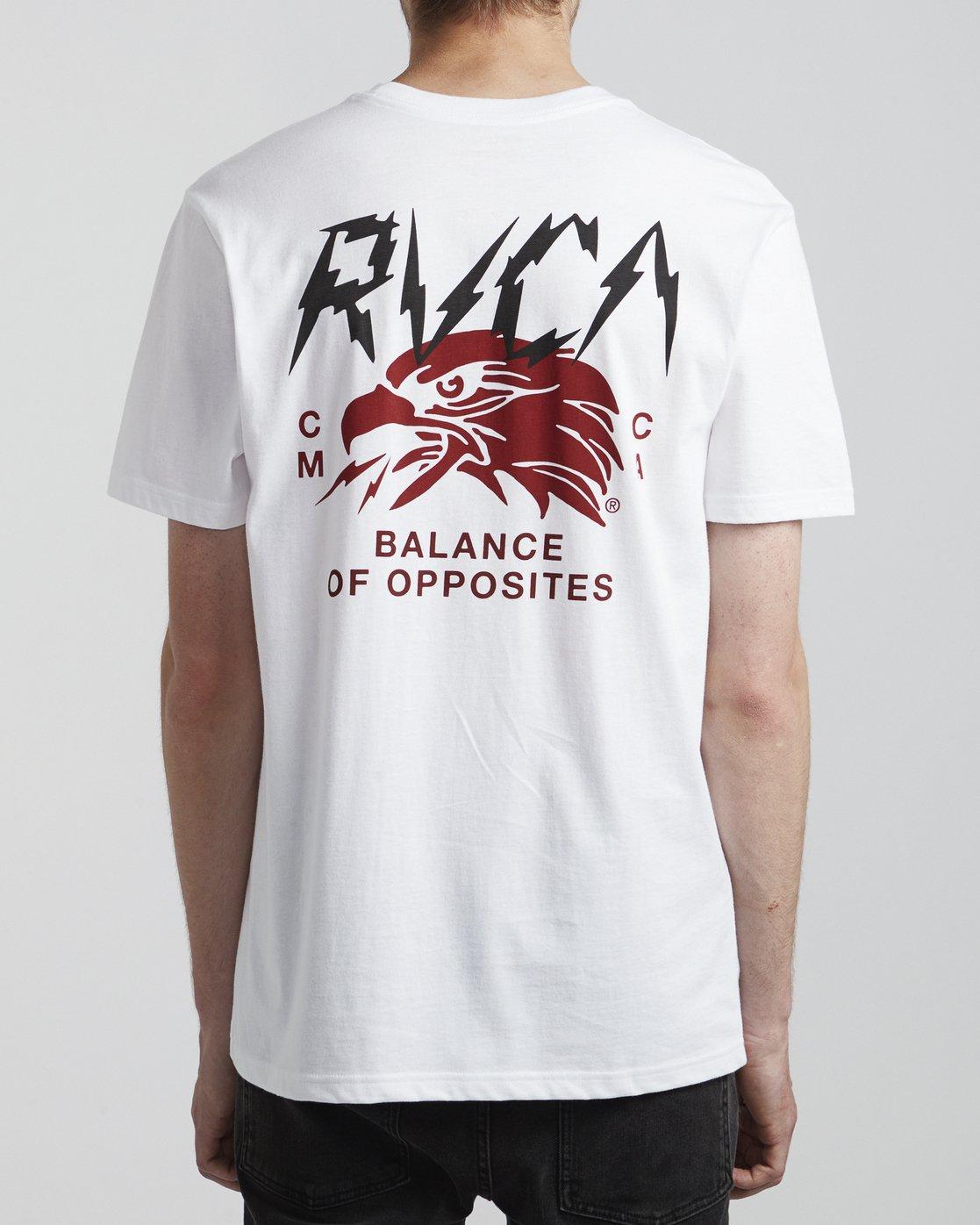 5 Parker - T-Shirt for Men White S1SSRSRVP0 RVCA