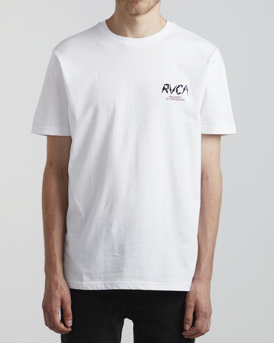 2 Parker - T-Shirt for Men White S1SSRSRVP0 RVCA