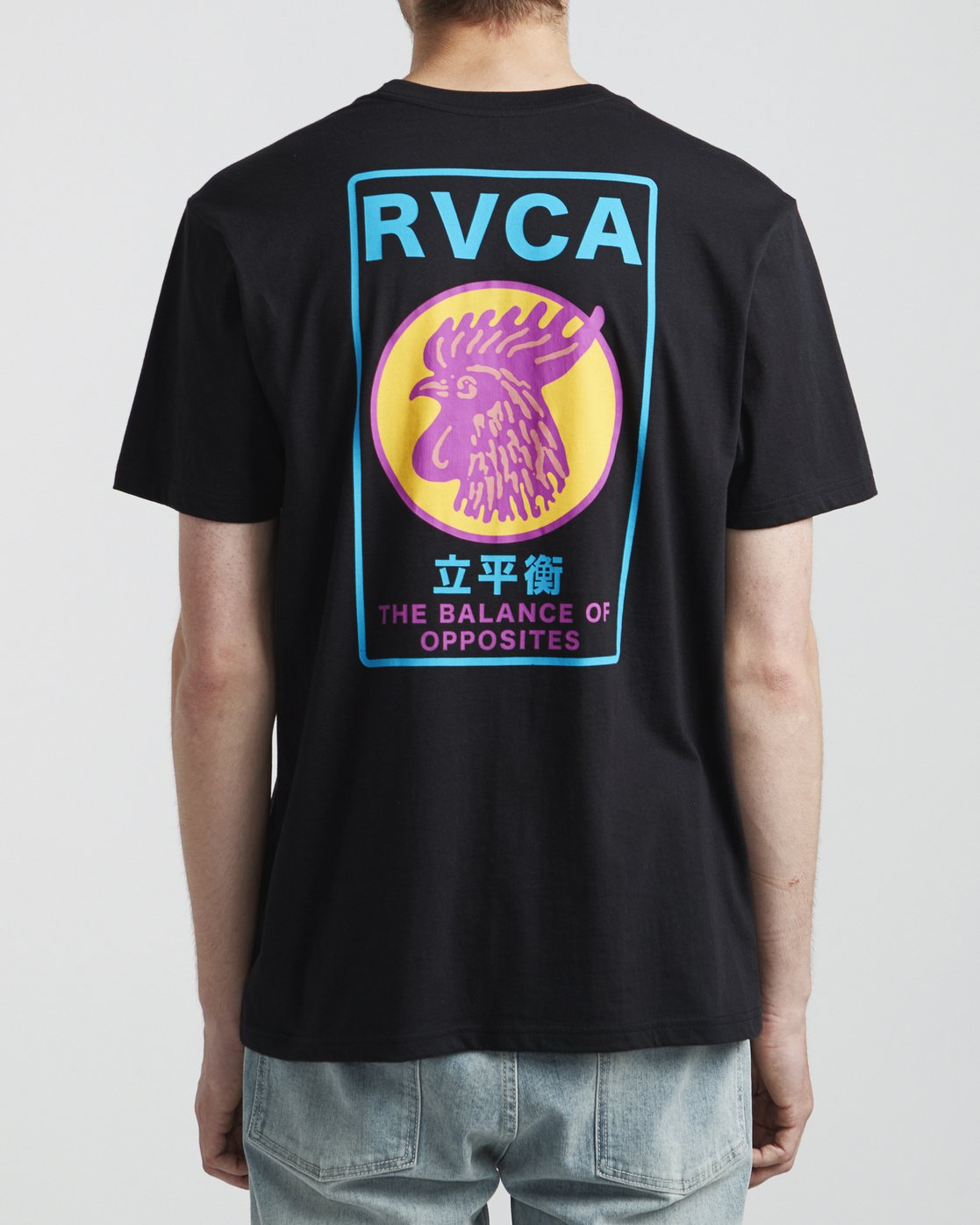5 Take Out - T-Shirt for Men Black S1SSRTRVP0 RVCA
