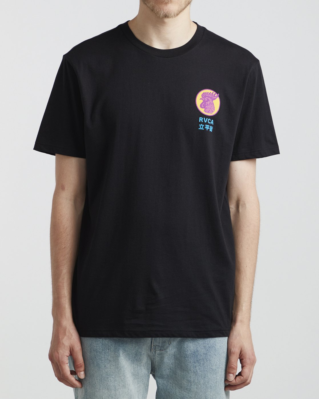 2 Take Out - T-Shirt for Men Black S1SSRTRVP0 RVCA