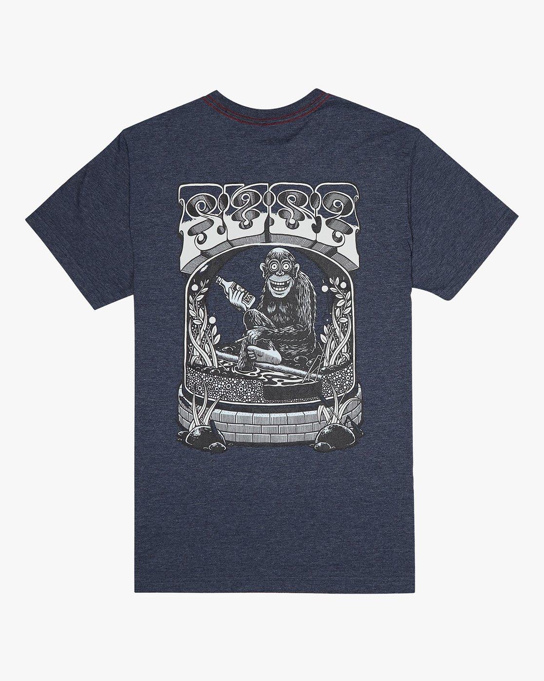 0 Martin Ander Monkey - T-Shirt for Men  S1SSRXRVP0 RVCA