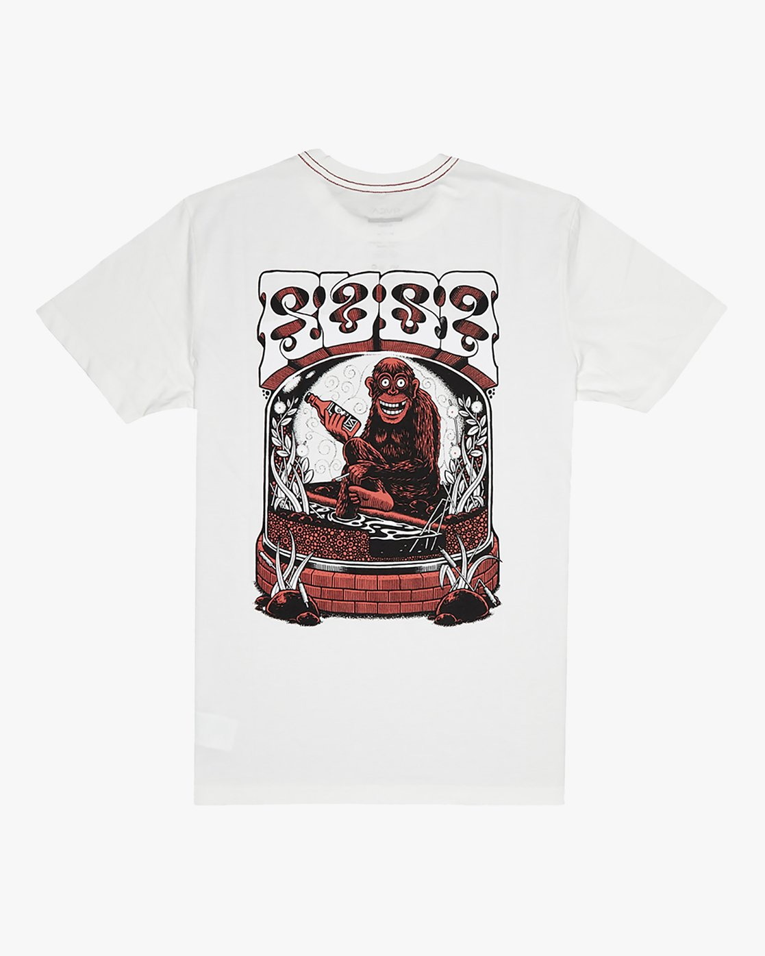 0 Martin Ander Monkey - T-Shirt for Men White S1SSRXRVP0 RVCA