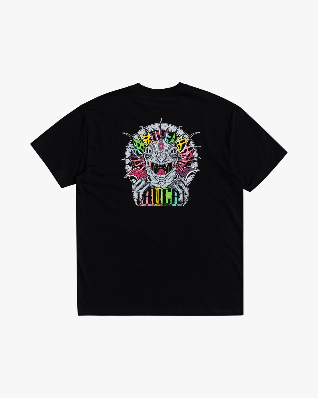 0 Roberto Redondo Lizard Wizard - T-Shirt for Men Black S1SSRYRVP0 RVCA