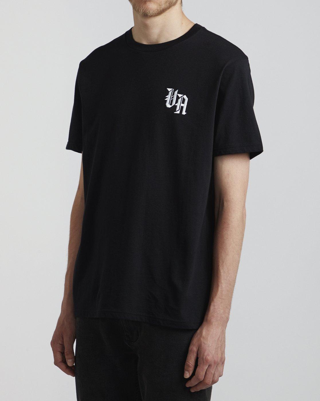 3 Benjamin Jeanjean Croco - T-Shirt pour Homme Noir S1SSSFRVP0 RVCA
