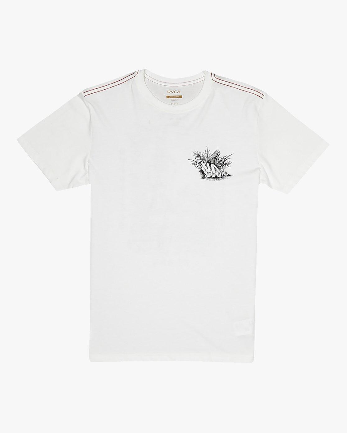 1 Benjamin Jeanjean Aloha Opposites - T-Shirt pour Homme Blanc S1SSSHRVP0 RVCA