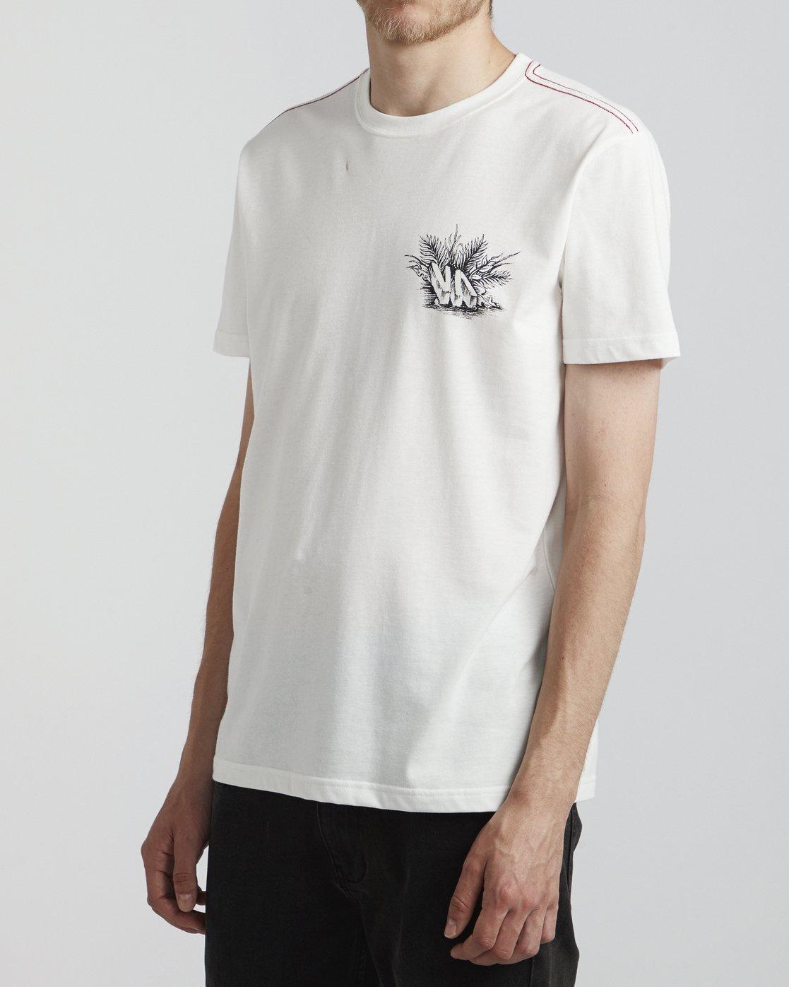 3 Benjamin Jeanjean Aloha Opposites - T-Shirt pour Homme Blanc S1SSSHRVP0 RVCA