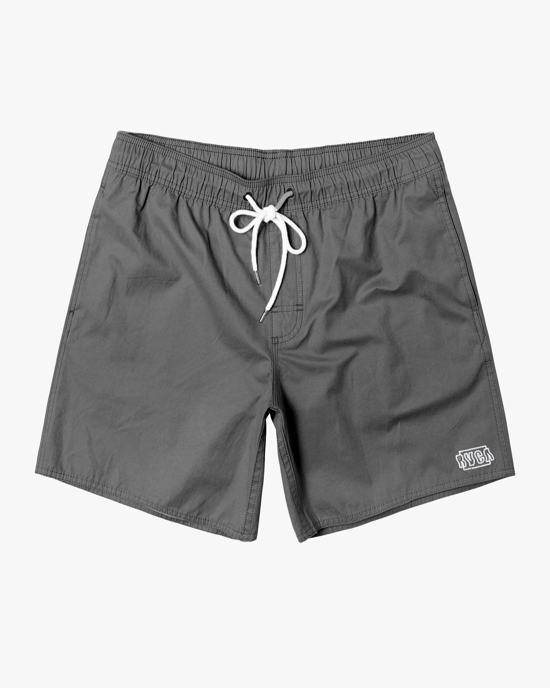 "0 Opposites 17"" - Elastic Waist Shorts for Elastic Waist Shorts Black S1VORBRVP0 RVCA"