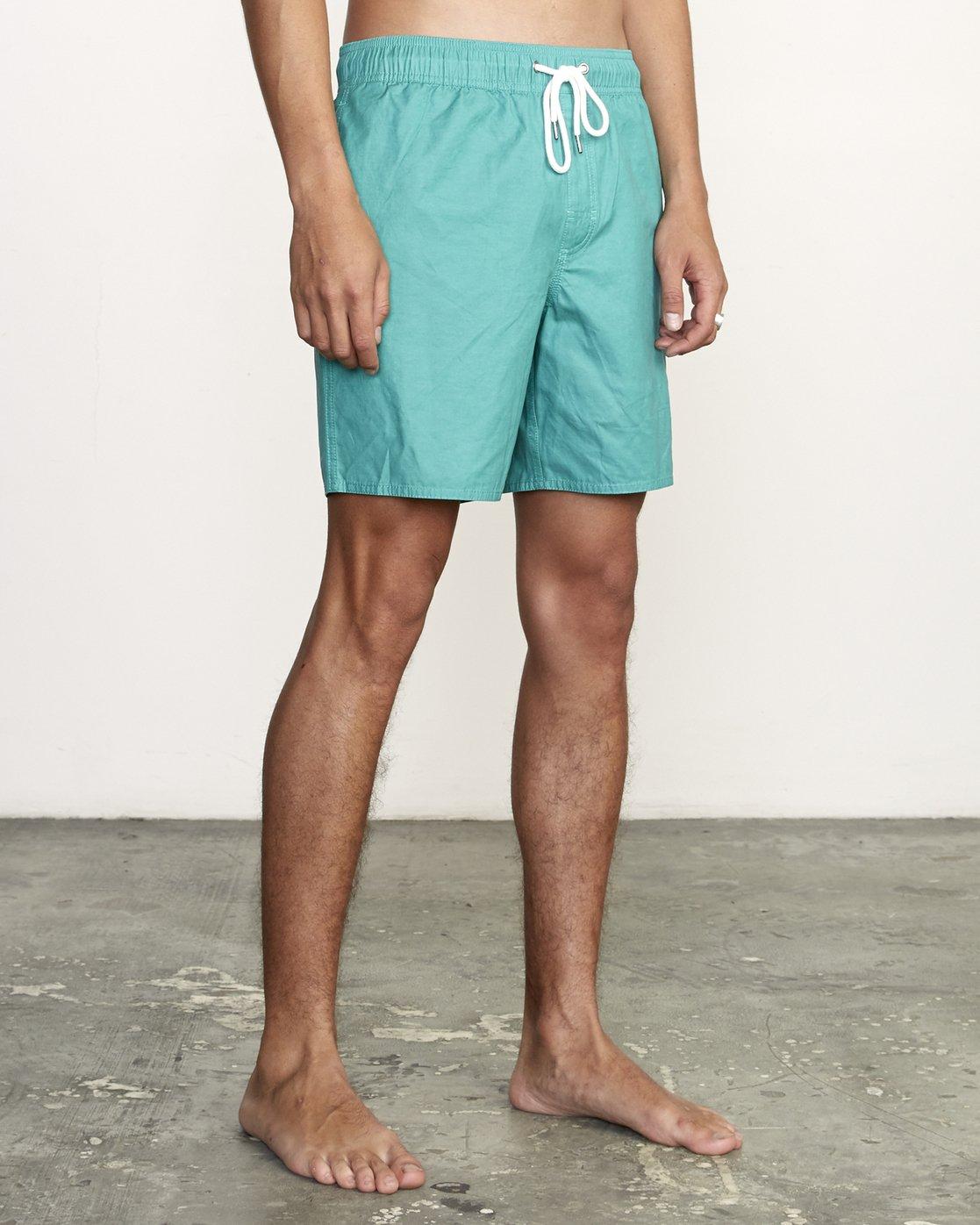 "6 Opposites 17"" - Elastic Waist Shorts for Elastic Waist Shorts  S1VORBRVP0 RVCA"