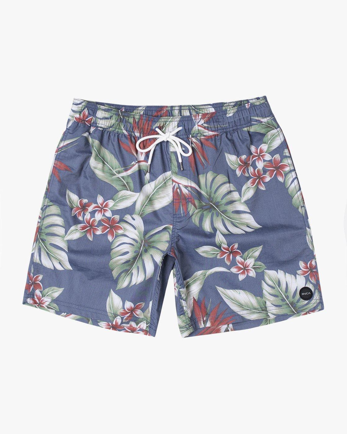 "0 Controller 17"" - Elastic Waist Shorts for Elastic Waist Shorts  S1VORCRVP0 RVCA"