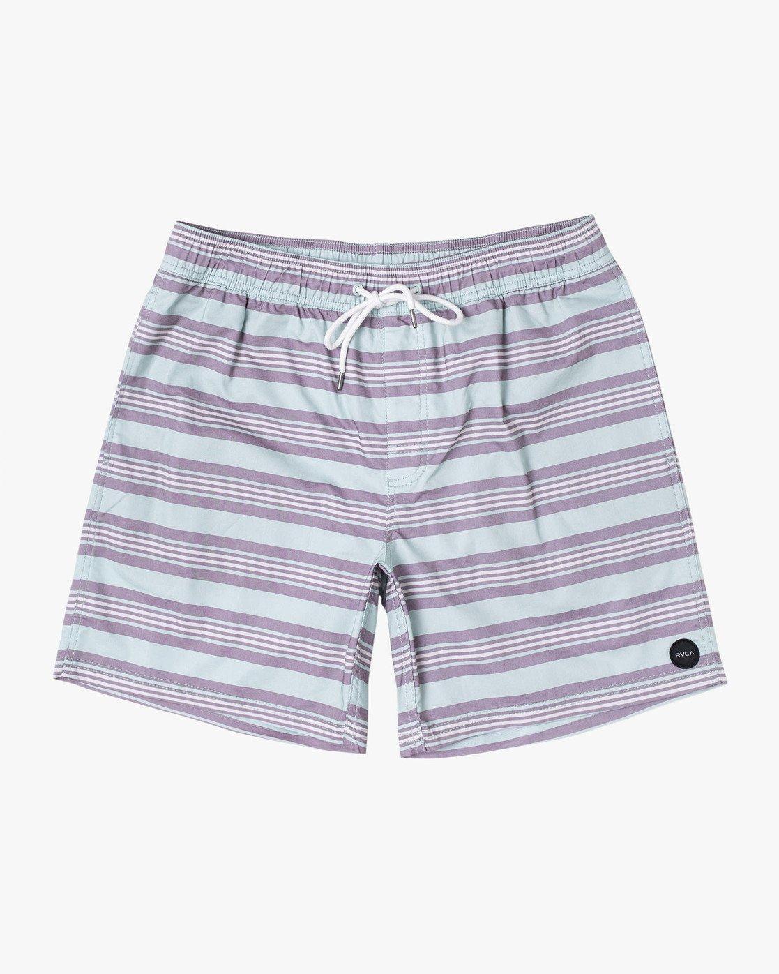 "0 Controller 17"" - Elastic Waist Shorts for Elastic Waist Shorts Blue S1VORCRVP0 RVCA"