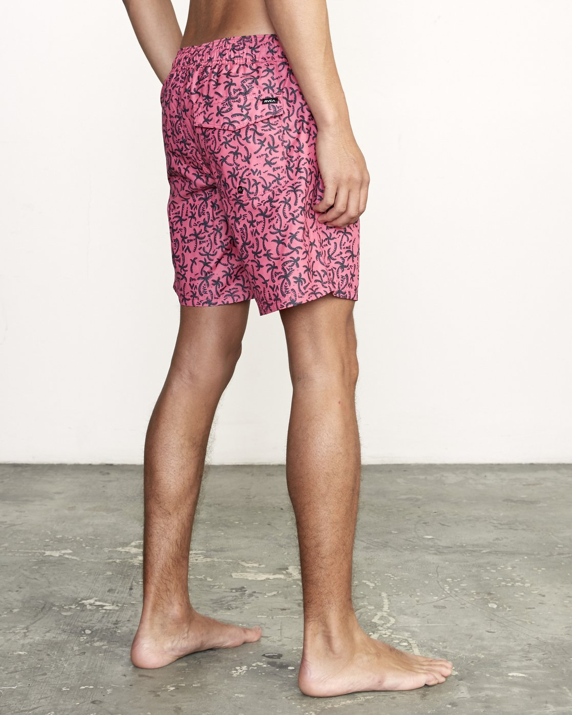 "5 Club 17"" - Elastic Waist Shorts for Elastic Waist Shorts  S1VORDRVP0 RVCA"